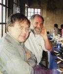 Em seu mandato Coruja desenvolveu estreita relação politica com o colega de partido Sergio Grando. Na festa da Pinhão realizavam a janta da tainha com a imprensa.