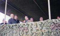 Inauguração do trecho Amola faca  à Cerrito