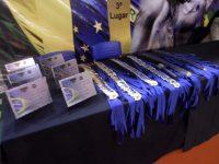 Medalhas e troféus .