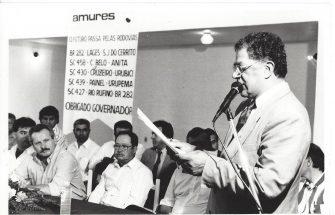 AMURES LAMENTA A MORTE DE LUIZ CARLOS RÉGIS