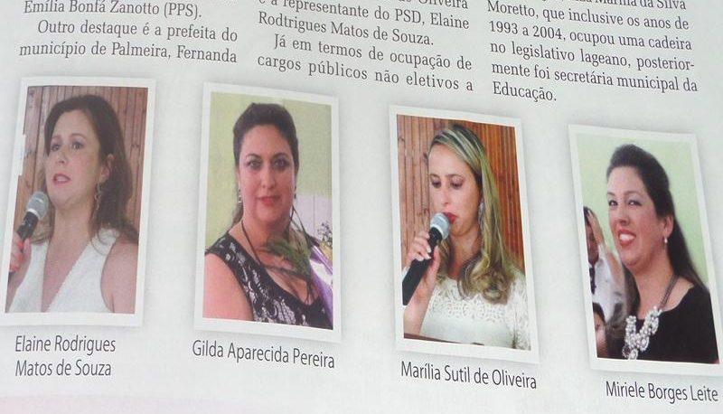 A MULHER NA POLÍTICA – A força da bancada do batom continua em alta em Santa Catarina.