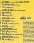 Músicas que compõem o CD Maneca e Pedro Freitas.