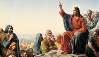 EM TEMPO DE NATAL – Fundamento da pregação de Jesus foi o amor ao próximo.