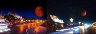 RECORDANDO IMAGENS ESPETACULARES – Recordando a Super Lua e o Eclipse de 2018, em cenas capturadas no Oriente.