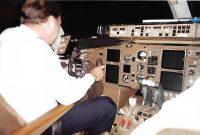 Em 1997 ainda existia a Varig, empresa que fazia o voo São Paulo - Lisboa - Madrid - São Paulo.