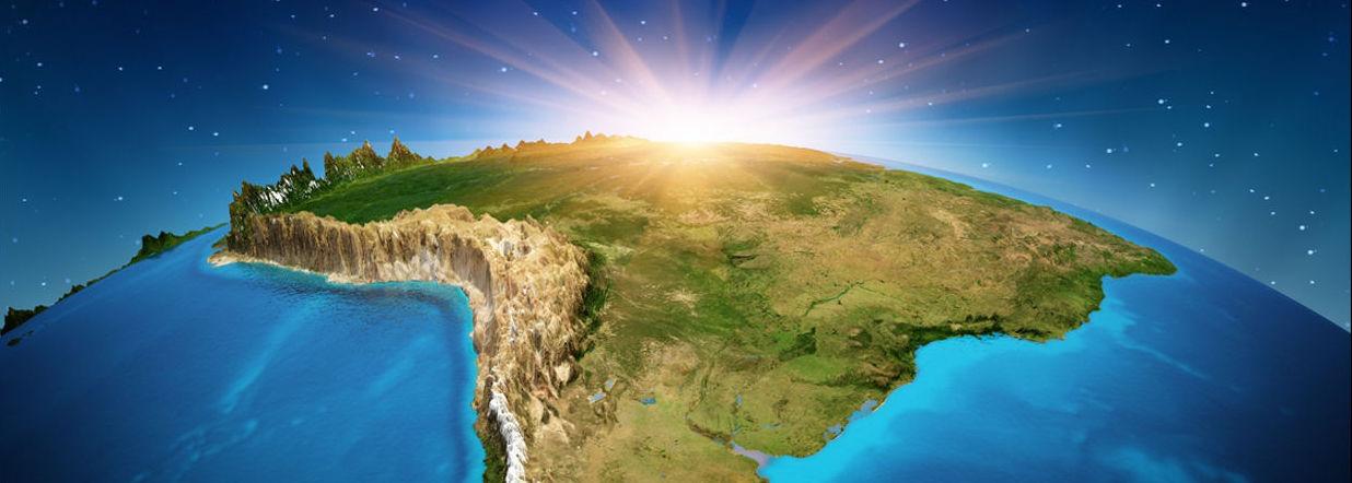 O BRASIL É ESTRATÉGICO PARA O MUNDO – Quase um continente com solo para produzir alimentos e para oferecer matéria prima.