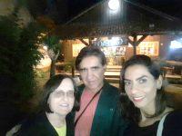Como ninguém é de ferro, Célia e Márcia foram jantar no Galpão Gaúcho/ Lages