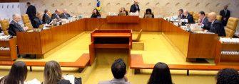FORO PRIVILEGIADO – STF deve estender alcance da restrição – ministro apresenta duas propostas