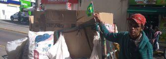 EXEMPLO DE AMOR AO BRASIL – Enquanto uns queimam nossa bandeira, ainda bem que alguns a cultuam