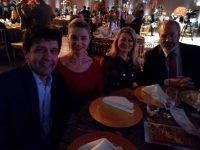 Ex Prefeito Tony Duarte e esposa.