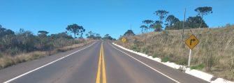 OBRAS ESTADUAIS COM SERIEDADE – Veja como ficou a estrada Capão Alto – Campo Belo