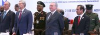 Brasília - O presidente Michel Temer participa do encerramento da 11ª Conferência de Chefes de Estado