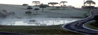 SERRA CATARINENSE COBERTA DE GELO – Temperatura mínima hoje – 5,6