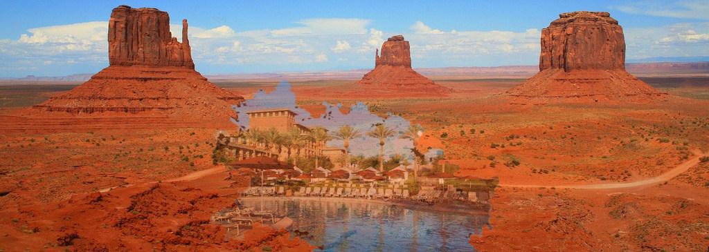 NO PRIMEIRO MUNDO TRANSFORAM DESERTOS EM MARAVILHAS – Aqui estamos transformando um continente maravilhoso num deserto.