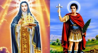AS BEM HUMORADAS DA ELEIÇÃO – Endividados ainda tem a quem recorrer: a Santo Expedito e a Santa Edwiges.