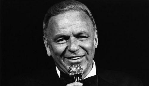 LOS ANGELES - JULY 6: Singer Frank Sinatra performs at The Universal Amphitheatre on July 6, 1980 in Universal City, Los Angeles, California. (Photo by Joan Adlen/Getty Images)