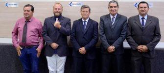 NOVO TIME ADMINISTRARÁ A CÂMARA EM 2019/2020 – O presidente Vone tem forte retaguarda na nova Mesa Diretora.