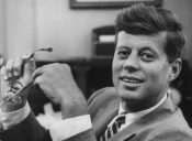 Sen. of Massachusetts John F. Kennedy.  (Photo by Verner Reed/The LIFE Images Collection/Getty Images)
