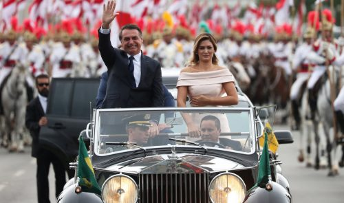 Jair Bolsonaro takes office as Brazil's President