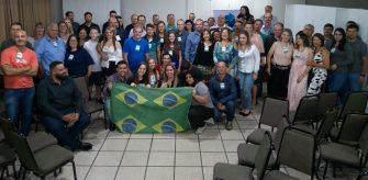 COALIZÃO CONSERVADORA REALIZA ENCONTRO EM LAGES – Filiados e simpatizantes do PSL da Serra compareceram em massa.