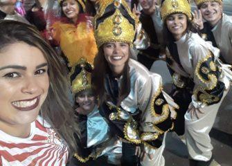 ACADÊMICOS GRANDE VALE É CAMPEÃ DO CARNAVAL DE JOAÇABA – Este ano Lages também brilhou por lá, através do Dançar Passarela.