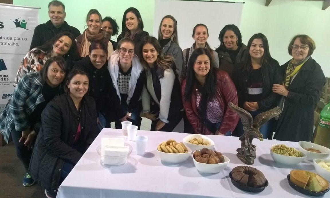 A PÁGINA DA FOREVER ÁGUIAS SERRANAS (NÚCLEO LAGES) – Empreendedores em fase de treinamento e qualificação profissional.