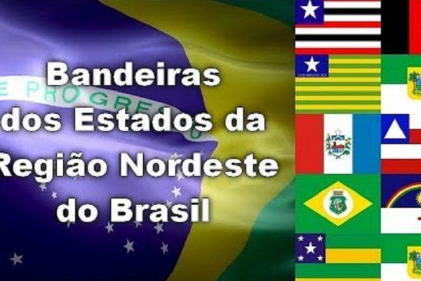 Bandeiras nordeste