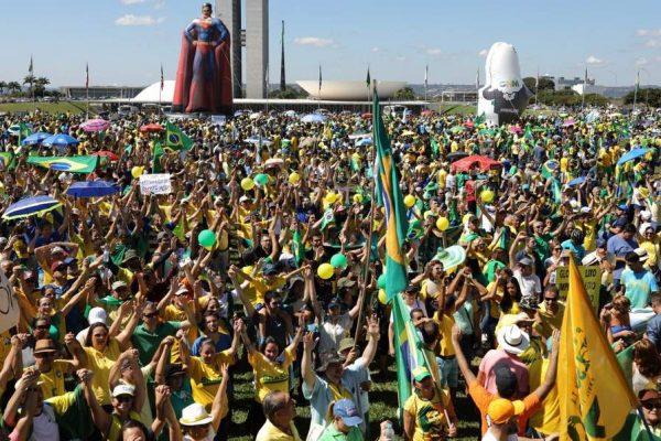 Manifestações brasilia