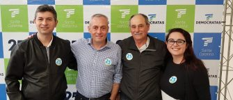 DEMOCRATAS DE CAPÃO ALTO GANHA REFORÇO PARA 2020 – E partido decide lançar candidato a prefeito na próxima eleição.