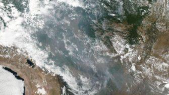 INCÊNDIOS DESTROEM 1 MILHÃO DE HECTARES NA BOLÍVIA – Provavelmente satélites de esquerdistas também irão mostrar.