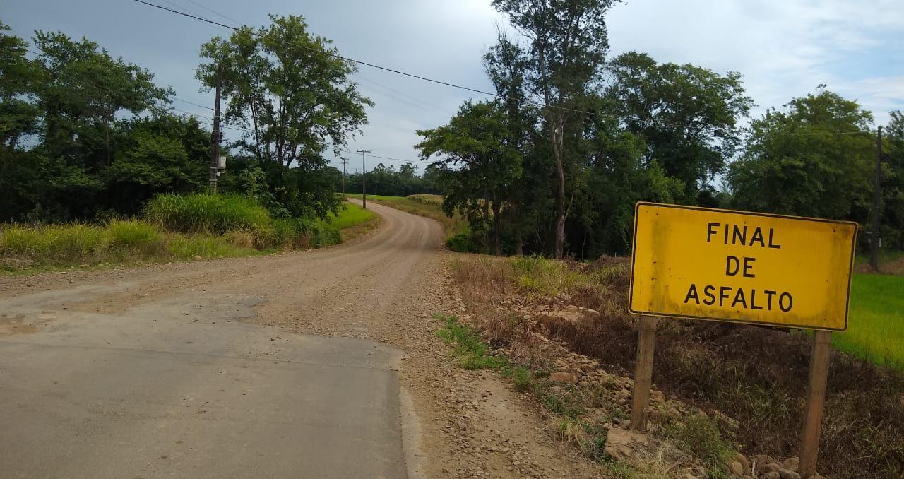 DEFINIDA PAVIMENTAÇÃO DE ESTRADA NO EXTREMO SUL – O verde horizonte das lavouras de arroz vai dar mais um salto.