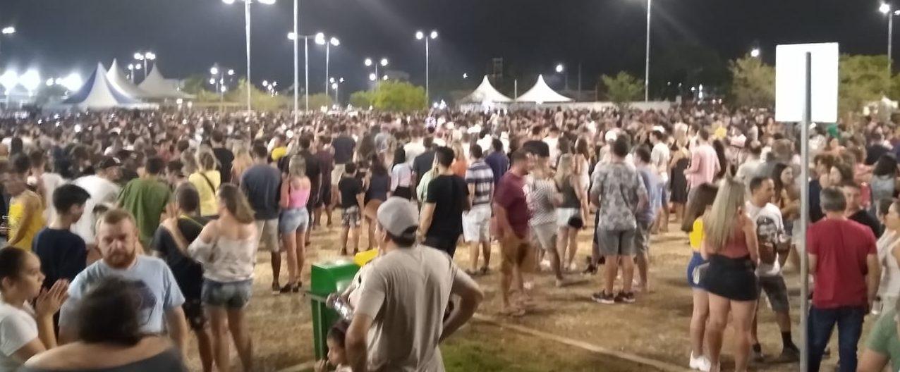 SUCESSO A FESTA DE COMEMORAÇÃO DOS 140 ANOS DE CRICIÚMA -A cidade viveu uma noite de muito brilho e emoção.