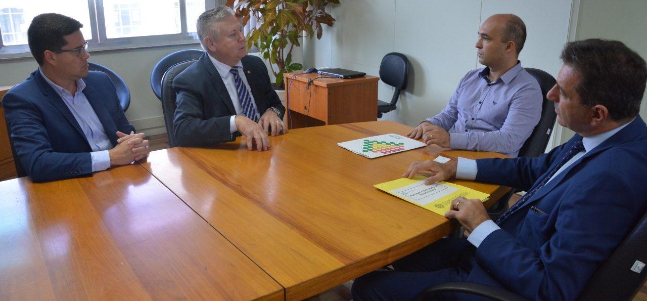 DEPUTADO INTENSIFICA AÇÕES PELAS DEMANDAS DE SUA BASE – Rodovia SC-120, de Curitibanos a Lebon Régis, é prioridade.