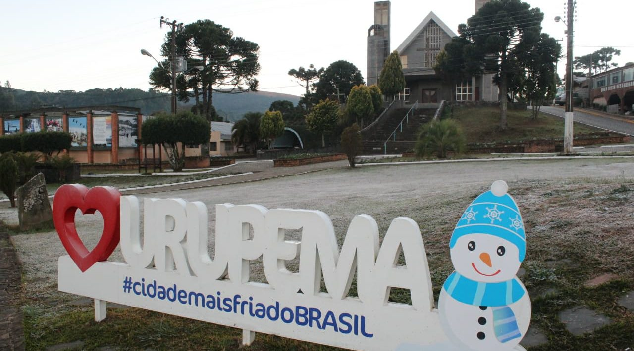 INVERNO CHEGA PESADO NO SUL E NO CENTRO DO PAÍS – Mínima foi em Urupema, na Serra Catarinense. Geou também na Gaúcha.