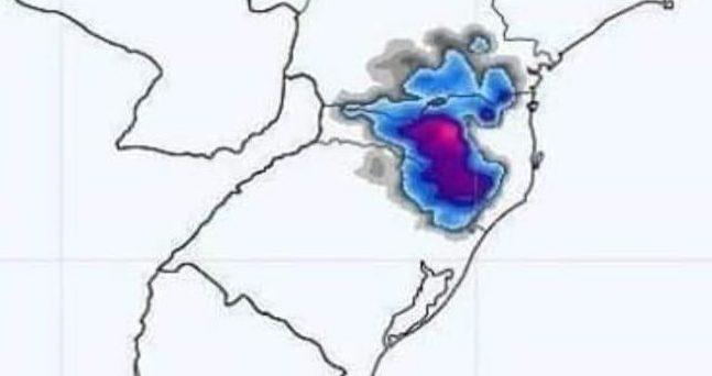 É ESPERADO EVENTO HISTÓRICO DE FRIO E NEVE NO SUL – Meteorologistas atualizam o modelo de 6 e 6 h, mas é certeza de muito frio.