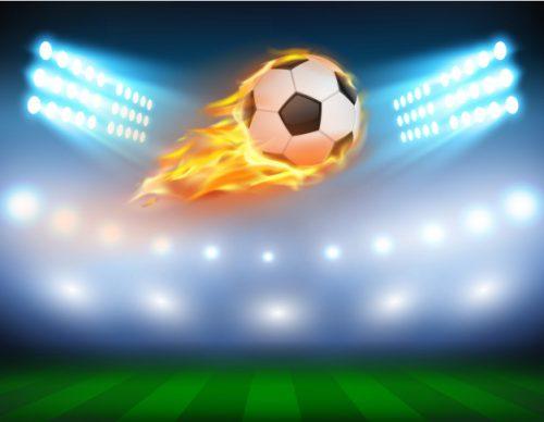 ilustracao-vetorial-de-um-futebol-em-uma-chama-ardente_1441-615