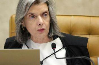 MINISTRA CÁRMEN LÚCIA (STF) RECEBE 1ª DOSE DA VACINA CONTRA COVID-19 –  Além dela, mais 5 ministros já foram vacinados. O último foi Luiz Fux, presidente daquele Poder