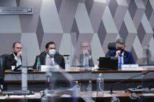 CPI DO SENADO SOBRE A PANDEMIA – Depoimentos geram fatos que podem adiar entrega de relatório – foto: Ag. Senado