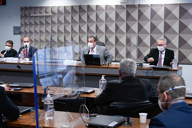 CPI DO SENADO SOBRE A PANDEMIA – Já aprovado, relatório final será entregue, primeiro, ao procurador-geral da República – foto: Ag. Senado