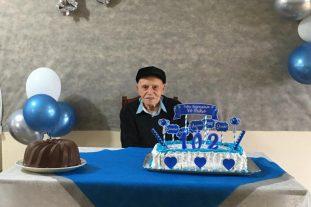 CELEBRANDO A VIDA! Um dos ex-prefeitos mais idosos de SC está cheio de saúde e lúcido